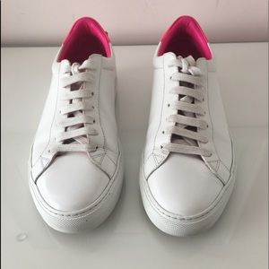Givenchy Urban Street low top sneakers w/ pink